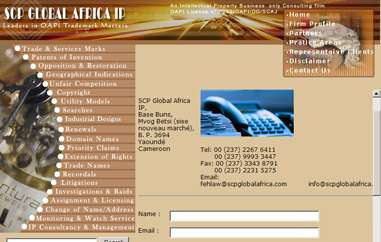 SCP Global Africa IP