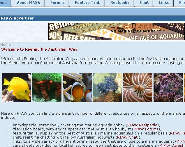 Marine Aquarium Societies of Australia
