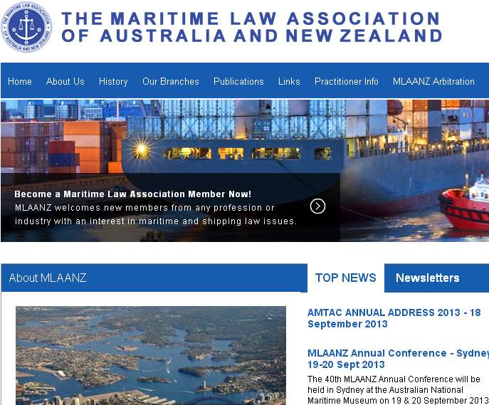 Maritime Law Association of Australia and New Zealand