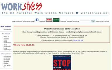 The UK National Work-Stress Network