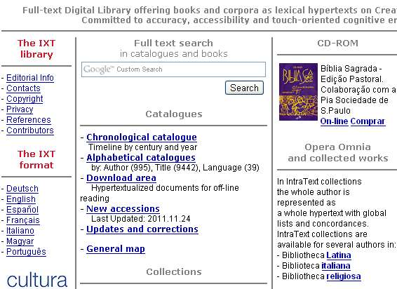 IntraText Digital Library