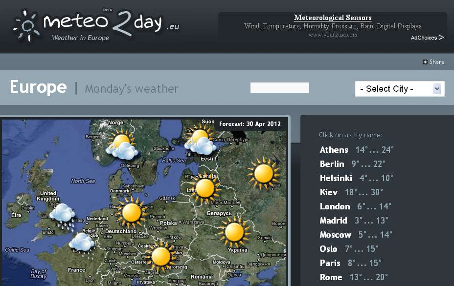 Meteo 2 Day
